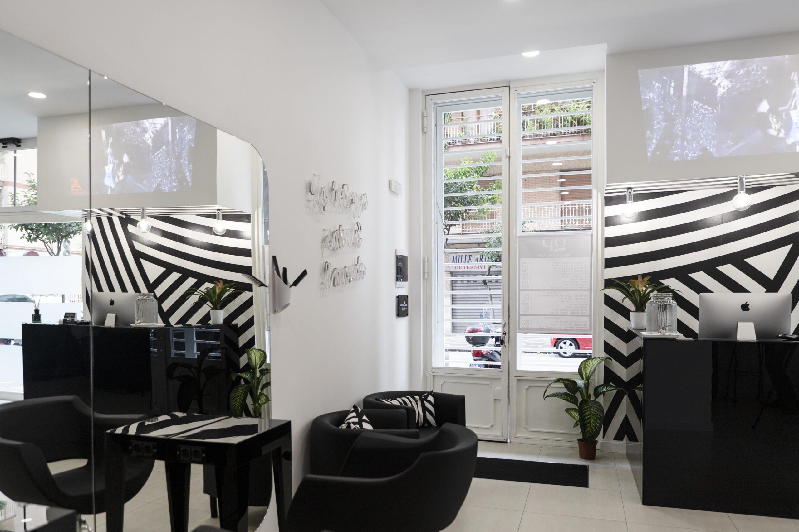 Hair Salon interior design