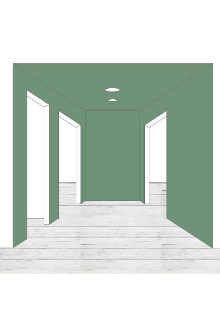 Colori pareti di ingresso e corridoio